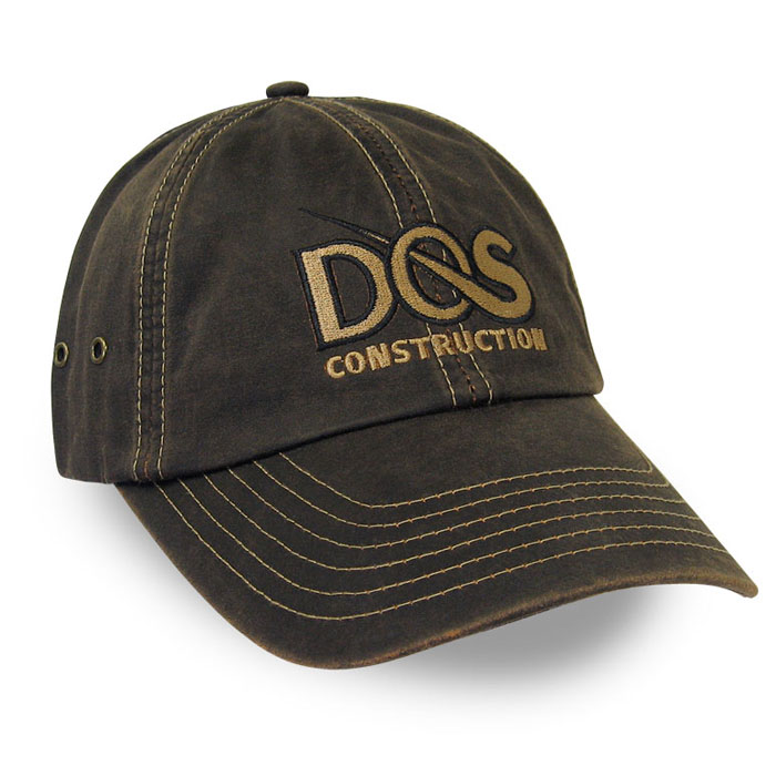 DOS Construction Custom Caps