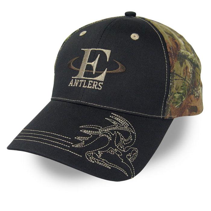 E Antlers Custom Caps