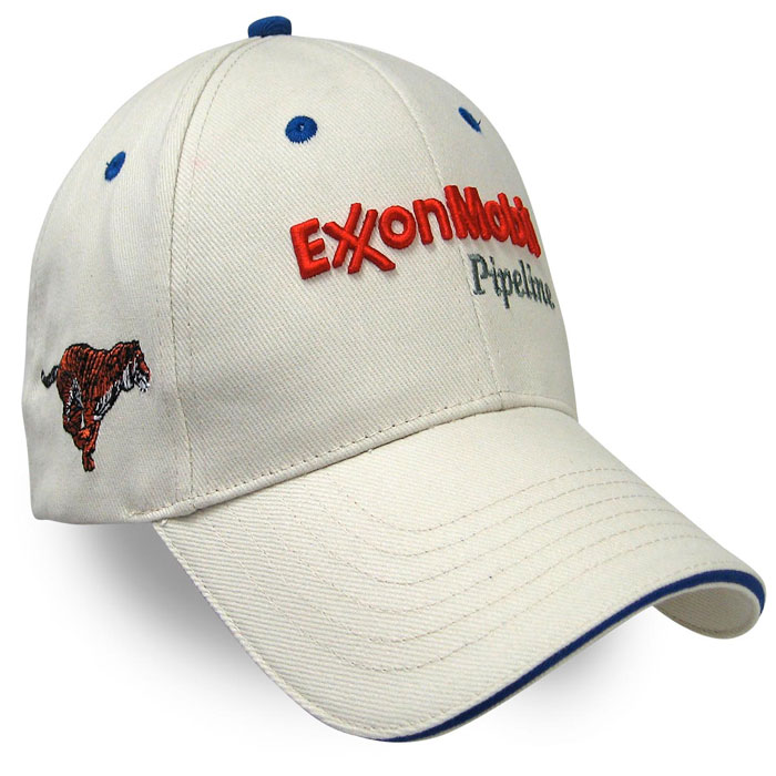 Exxon Mobile Pipeline Custom Caps