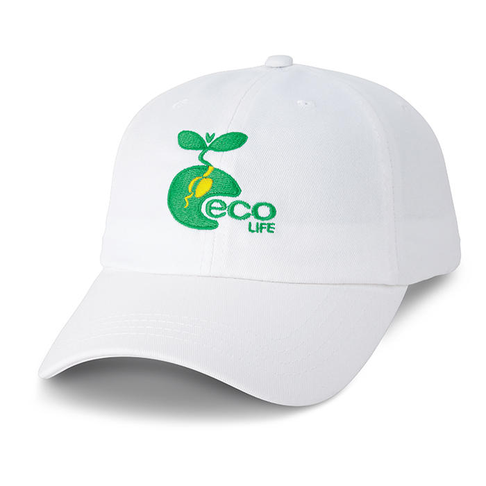 Eco Life White Custom Cap