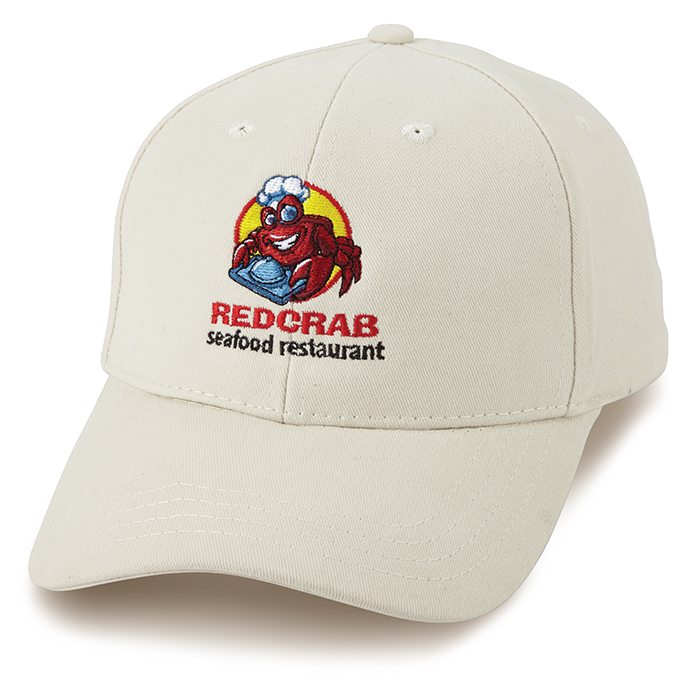 Custom Embroidered Six Panel Cap 3D-650