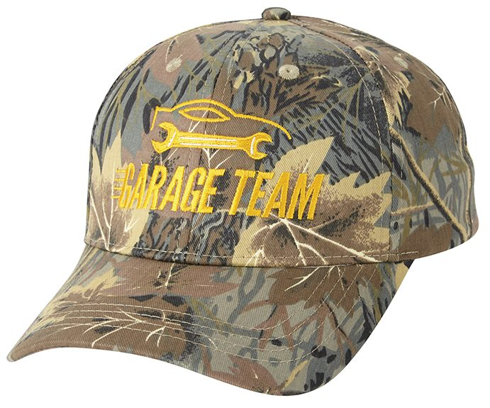 The garage team custom cap camo