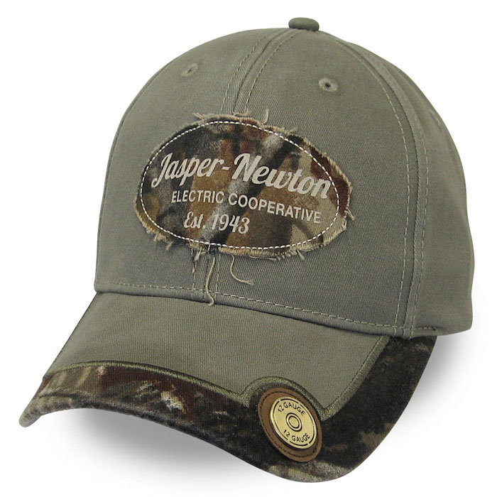 Jasper Newton Electric Cooperative custom Cap Camo