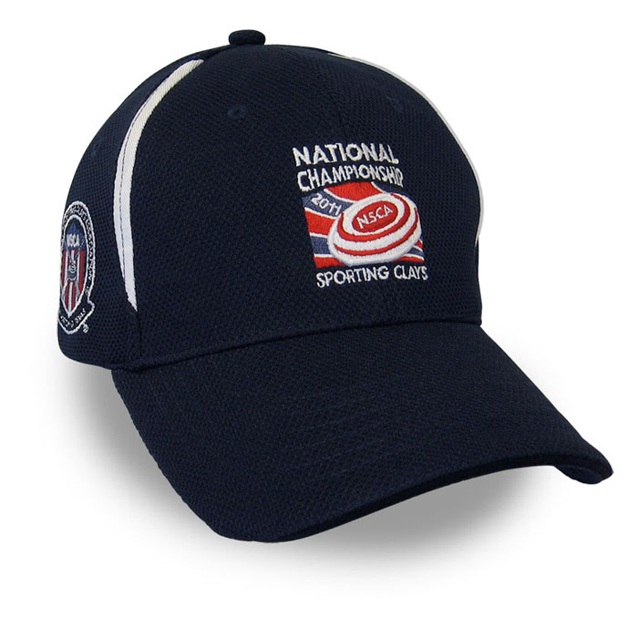 National Championship Sporting Clays NSCA Custom Cap