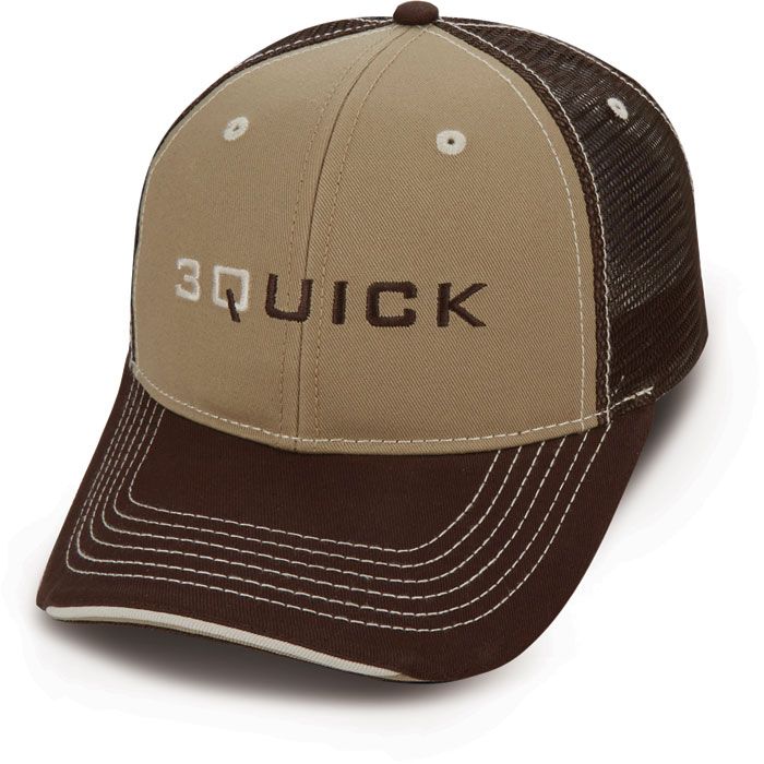 Custom Quick Cap Brown Mesh