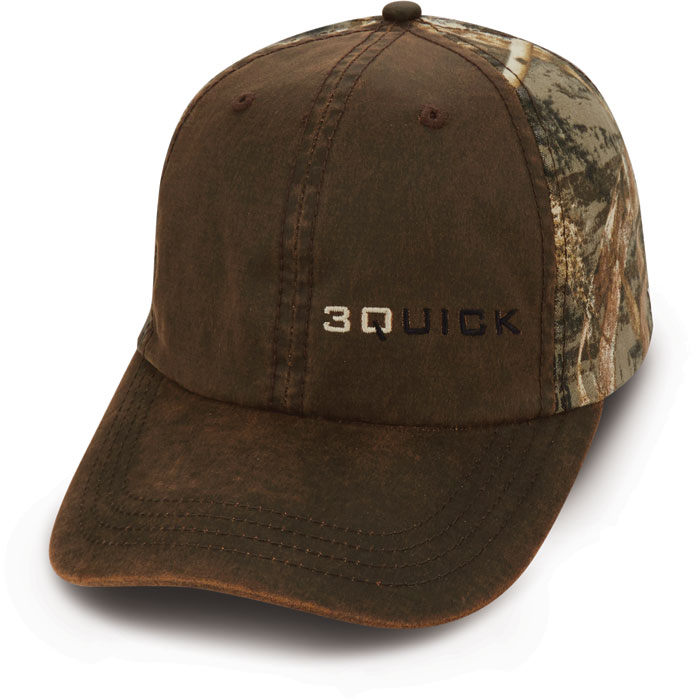 Custom Quick Cap Brown Camo