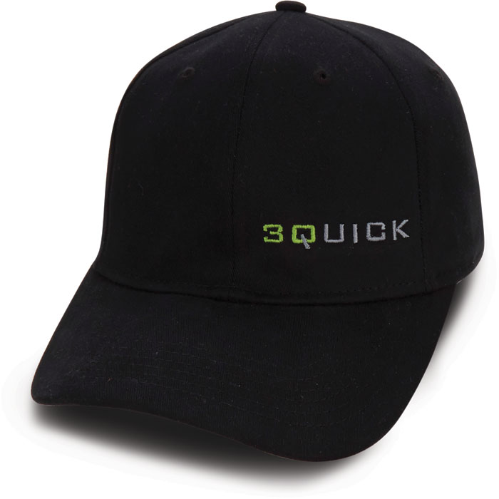 Black Custom Quick Cap
