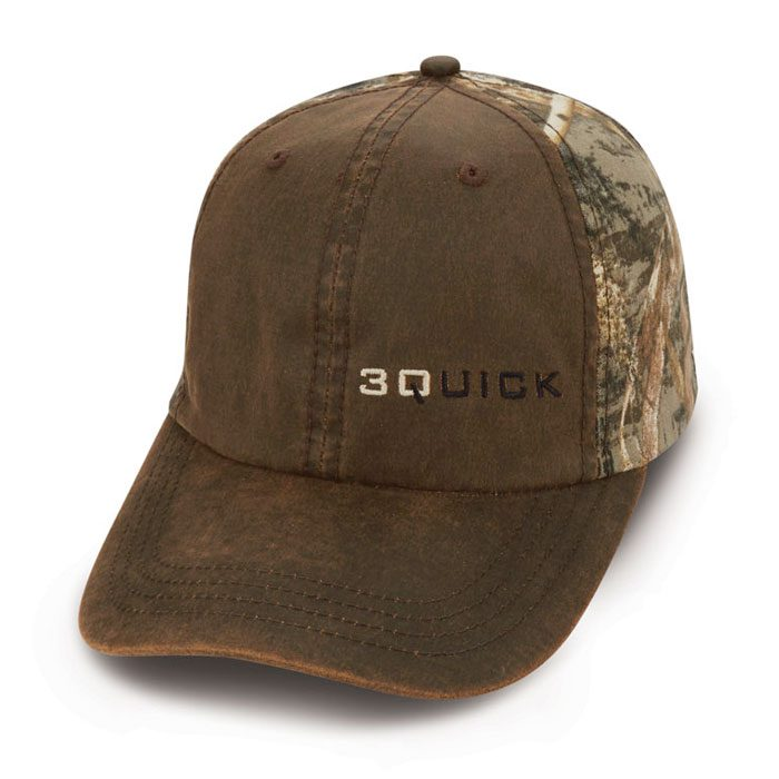 Quick Custom Camo Brown Hat