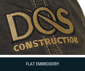 flat embroidery image