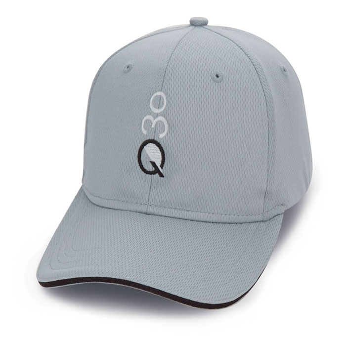 Quick Custom gray hat