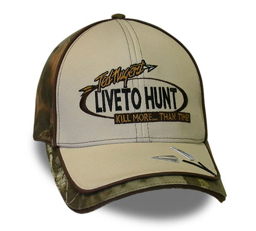 Ted Nugent Live To Hunt Custom Cap