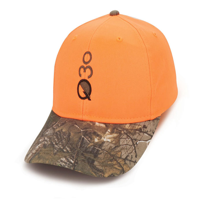 Quick Custom Orange Camo Hat