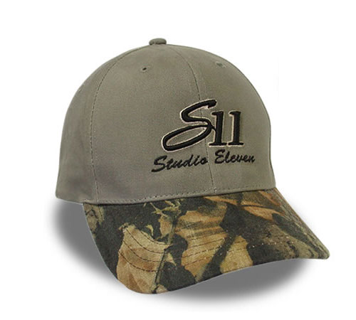 Studio 11 Custom Cap Camo