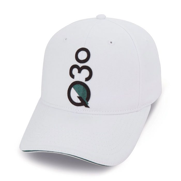 Quick Custom White Hat