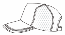 five-panel-pro cap example