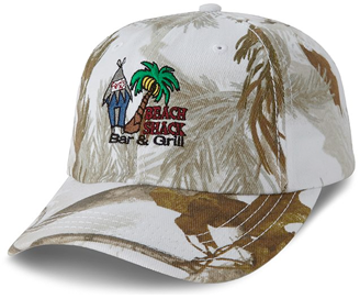 Custom Embroidered Beach Cap 3D-1085