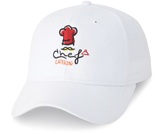 Custom Embroidered Cap White 3D-2777